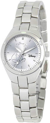 Disney Fortaleza Winnie the Pooh Womens Silver-Tone Watch