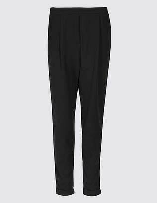 Marks and Spencer Tapered Leg Side Stripe Joggers