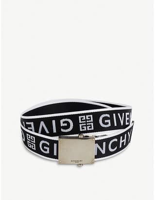 Givenchy Logo-jacquard belt