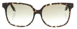 Victoria Beckham Square Gradient Sunglasses