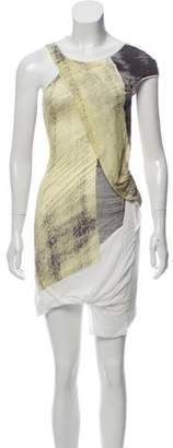 Helmut Lang Printed Mini Dress