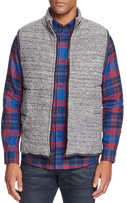 Splendid Mills Quilted Cotton Puffer Vest $198 thestylecure.com