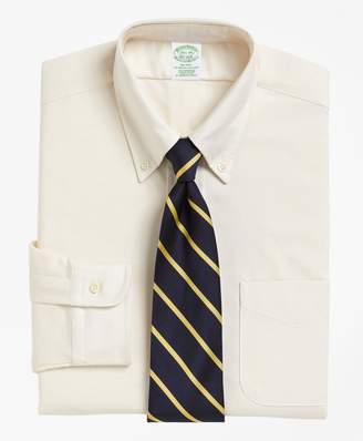 Brooks Brothers Milano Slim-Fit Dress Shirt, Button-Down Collar