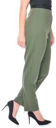Grace Khaki Petite Fit Trousers