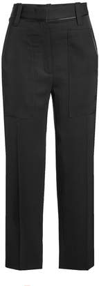 Victoria Beckham Victoria Patch Pocket Cropped Pants