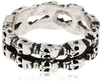 Alcozer & J Skull Ring