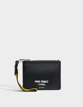 Off-White OFF WHITE 'For Display Only' flat pouch