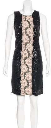 Dolce & Gabbana Sequined Cocktail Dress w/ Tags