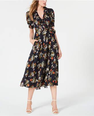 Jill Stuart Floral-Print Wrap Dress