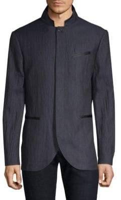 John Varvatos Slim-Fit Drop Neck Jacket