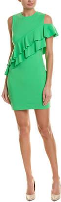 Susana Monaco Ruffle Sheath Dress