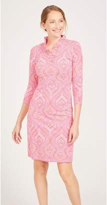 J.Mclaughlin Durham Dress in Neo Tangier Sun