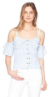 GUESS Women's Sleeveless Kate Shirt