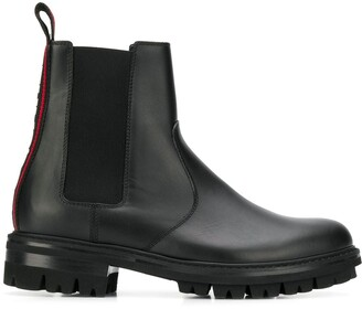 DSQUARED2 elasticated side panel boots