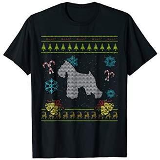 Mini A Ture Ugly Christmas Shirts Miniature Schnauzer Shirt