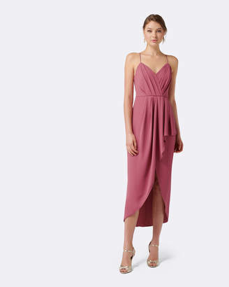 Forever New Lucy Drape Maxi Dress