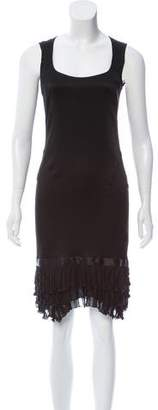Blumarine Silk Sleeveless Dress