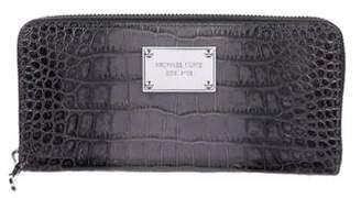 MICHAEL Michael Kors Embossed Leather Wallet
