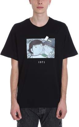 Throw Back Holly Black Cotton T-shirt