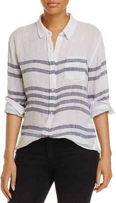 Rails Charli Striped Shirt $148 thestylecure.com