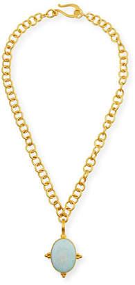 Dina Mackney Opal Enhancer in 18K Gold Vermeil