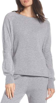 Zella Wool & Cashmere Jogger Pullover Sweater