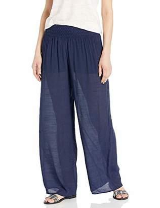 Amy Byer A. Byer Women's Junior Super Comfy Gauze Pull-on Pant (Junior's) Pants,XL