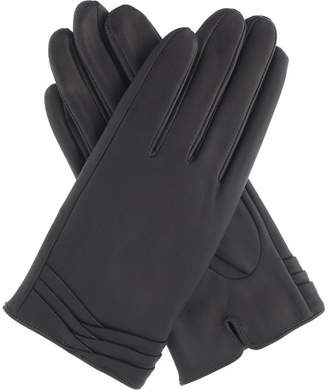 Dents Layered leather gloves