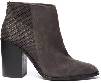 Steve Madden Replay Suede Perforated Bootie
