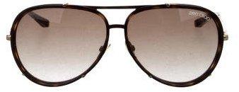 Jimmy ChooJimmy Choo Tortoiseshell Aviator Sunglasses