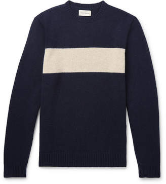 Oliver Spencer Blenheim Striped Wool Sweater