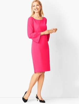 Talbots Crepe Shift Dress - Solid