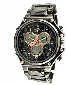 J.Ferrar Mens Multi Function Watch