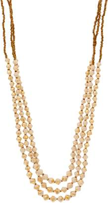 3.1 Phillip Lim Bits Triple Strand Beaded Dreamer Necklace