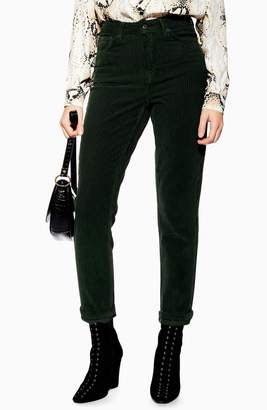 Topshop High Waist Corduroy Pants