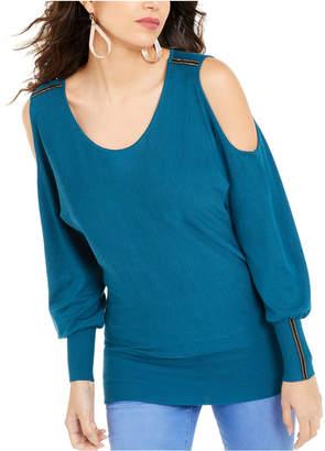 Thalia Sodi Cold-Shoulder Dolman-Sleeve Top