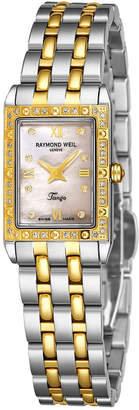 Raymond Weil Women's Tango Square Diamond Watch