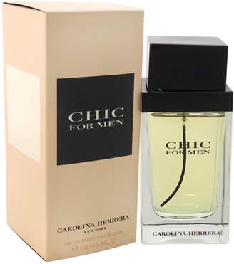 Carolina Herrera Chic 3.4Oz Men's Eau De Toilette Spray