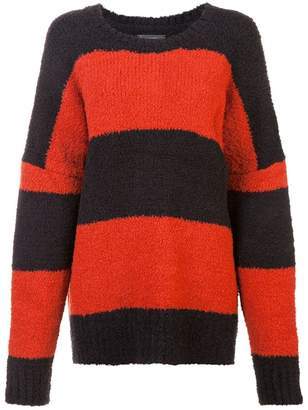 Amiri striped knit jumper