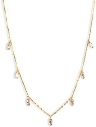 Gorjana Amara Crystal Fringe Necklace