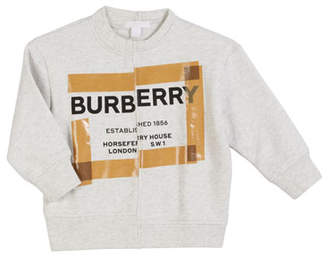 Burberry Patch Logo Sweatshirt, Size 3-14