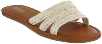 Mia Shoes Flat Slide Sandals - Liri