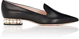 Nicholas Kirkwood Women's Casati Leather Loafers - Black