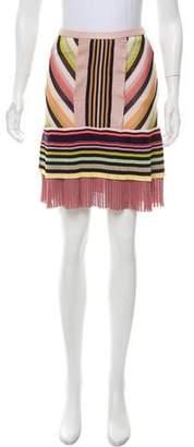Missoni Printed Knit Skirt