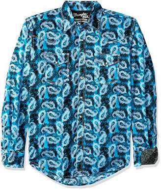 Wrangler Men's 20X Competition Long Sleeve Snap Front Shirt