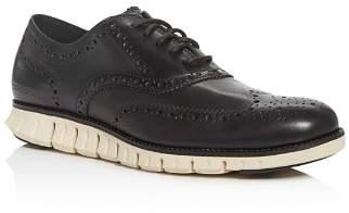 Cole Haan Men's ZeroGrand Leather Wingtip Oxfords