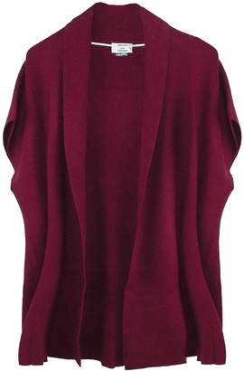 David & Young Women's Rib Knit Ruana Wrap