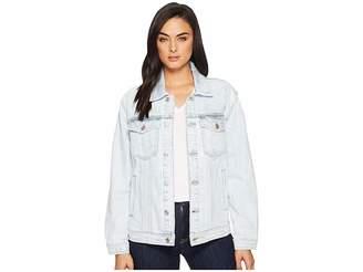 7 For All Mankind Oversized Boyfriend Jacket Women's Coat