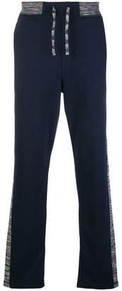 Missoni side tripe track pants