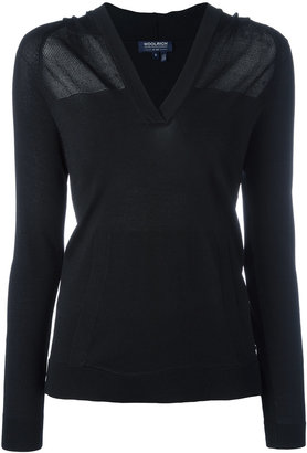 Woolrich sheer knitted top $143.48 thestylecure.com